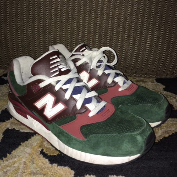 100% authentic 4e27d 8f545 New Balance 530 Running Woods Red/Brown-Green Sz9